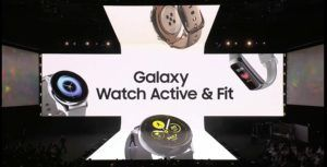 Samsung announces new Galaxy Watch Active wearable