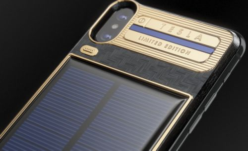 Money can't buy taste, but it can buy this $4,500 solar iPhone case