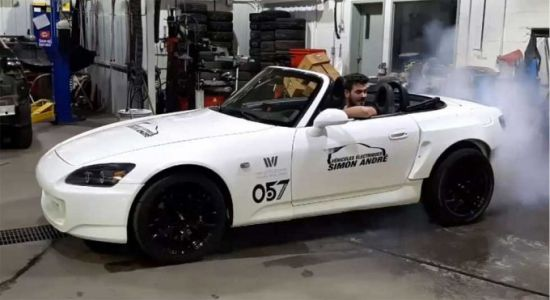Honda S2000 custom EV is part Tesla and part Chevy