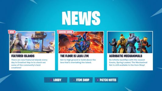 "Fortnite Floor Is Lava LTM Is ""Coming Soon,"" Says Epic Games"