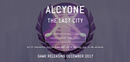 IF Only: Alcyone on Kickstarter