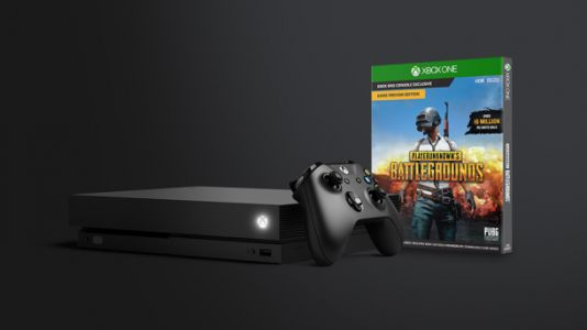 Buy an Xbox One X and get 'PlayerUnknown's Battlegrounds' for free