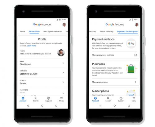 Google Account update brings easier navigation and better security tools