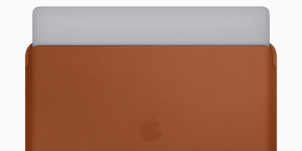 Apple just introduced new leather sleeves for its MacBook Pro laptops - and they start at $180