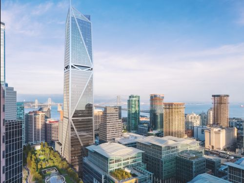 Facebook is dropping $35 million to lease a beautiful, earthquake-resistant skyscraper in San Francisco - take a look inside