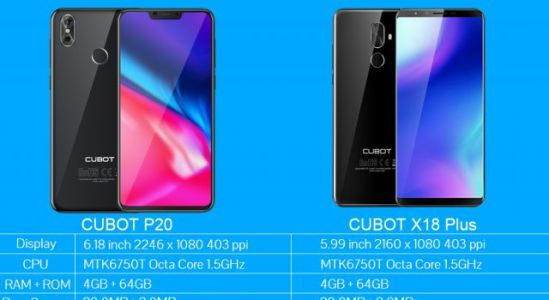 Are You a Notch Screen Guy or Not? CUBOT might have a good option for both
