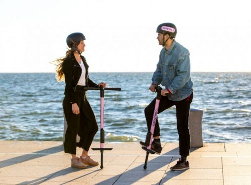 The CEO of pogo stick-sharing startup Cangaroo insists his company isn't a hoax