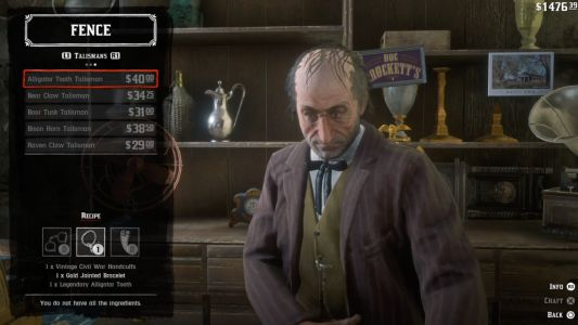Red Dead 2 Perks Guide: Trinkets, Talismans, And All The Crafting Components You Need