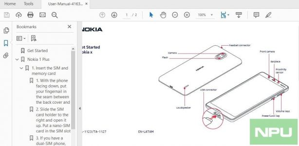 Nokia 1 Plus User Manual, Design, variants, Battery Capacity leaked via FCC certification