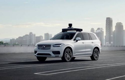Uber and Volvo's self-driving SUV just hit a huge milestone