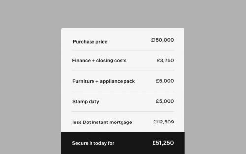 Dot lets you invest in property without the hassle of a traditional mortgage