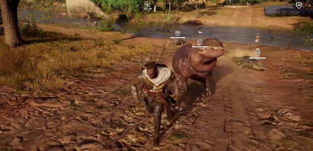 Assassin's Creed Origins launches cheaty tweaky Control Panel today