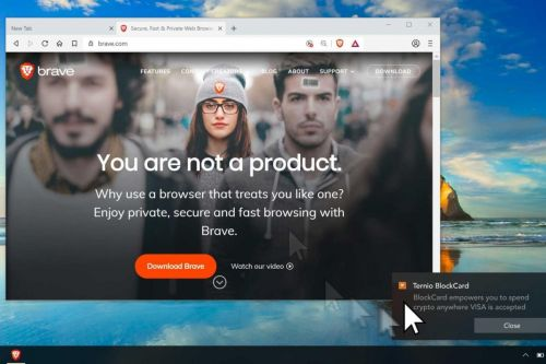 Brave Search is a privacy-first search engine