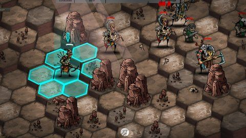 Tactically Battle Across A Dark Fantasy Landscape In Urtuk:The Desolation