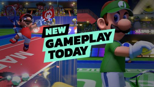 New Gameplay Today - Mario Tennis Aces