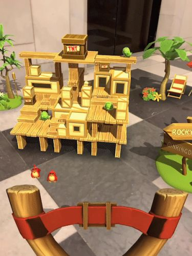Angry Birds AR is coming to iPhone this spring