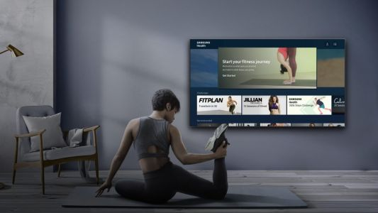 Samsung 2020 QLED TVs now have a health tracking app that can help get you in shape
