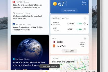 Microsoft to bring automated news and weather to your Windows 10 Taskbar