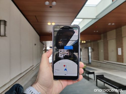 Google Maps can now determine your precise location with Live View AR
