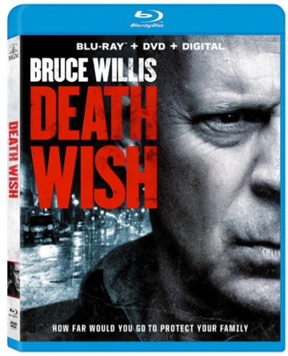 'Death Wish' Starring Bruce Willis Coming to Blu-ray, DVD and 4K Digital This Summer