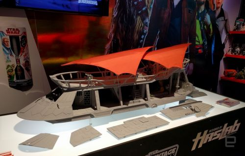 Hasbro's first HasLab toy is a replica of Jabba the Hutt's barge