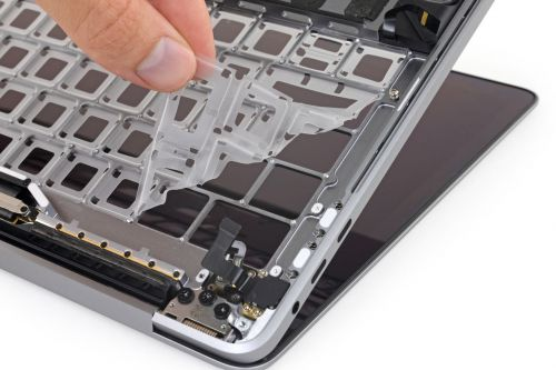IFixit tests how the anti-dust membrane in new MacBook Pro really works