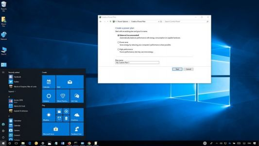 How to manage custom power plans on Windows 10