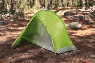 RhinoWolf tent comes with a built-in sleeping bag and mattress
