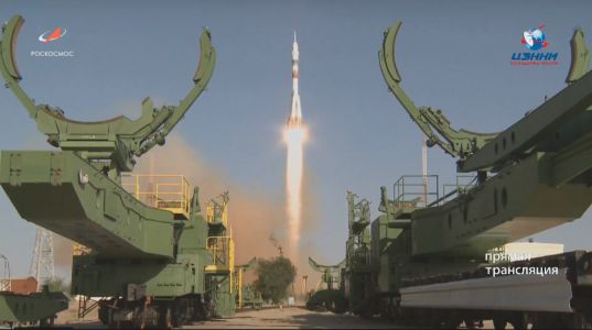 Russia Launches Humanoid Robot 'Fyodor' to Space Station on Rare Soyuz Test Flight