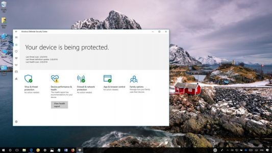 Beginner's guide to Windows Defender Security Center on Windows 10