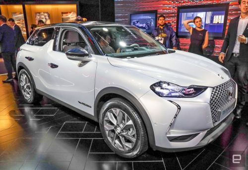 Citroen's DS shows off its mainstream crossover EV