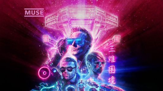 Muse goes into 80s meltdown with new album cover