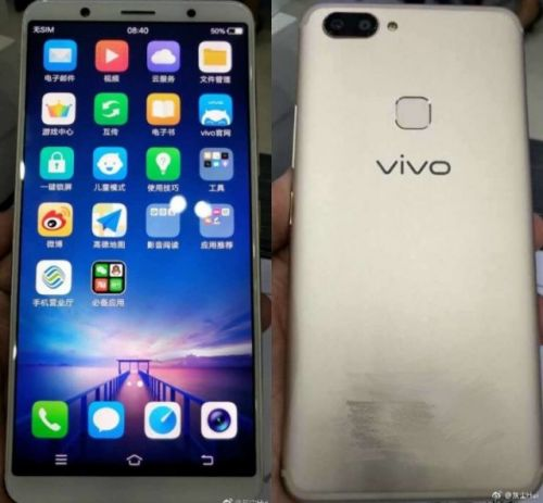 Vivo X20 Leaks in Hands on Video and Pictures, Hinting at Bezel Less Screen