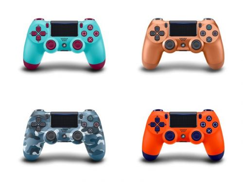 These new PlayStation 4 Dualshock controller colors are simply stunning