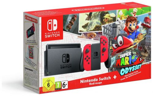 UK Daily Deals: Nintendo Switch Console and Super Mario Odyssey Bundle under £275
