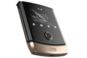 The Motorola razr is now available in a new color from Verizon
