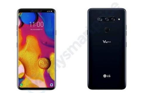 LG V40 ThinQ Leaked Online, Showcasing Full Specs List