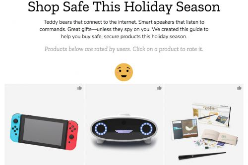 Mozilla releases privacy report on which holiday gadgets are too creepy