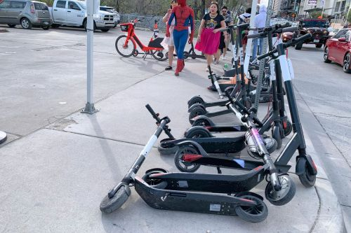 Electric scooters may not be around for long