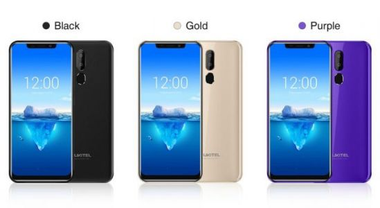 Full specs for the notched OUKITEL C12 Pro released