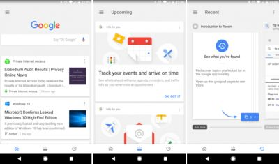 Tabbed Google App Interface Now Reaching More Users