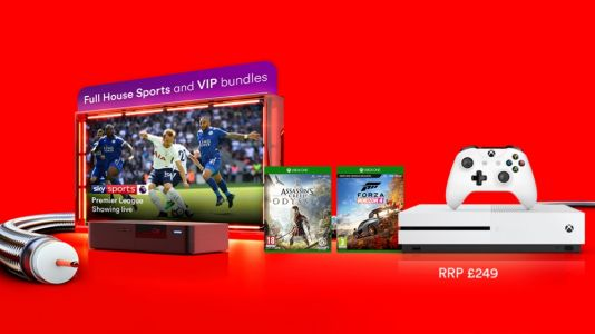 Get a free Xbox bundle with these Virgin Media broadband and TV deals