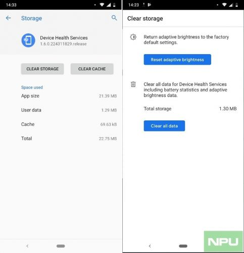 Reset Adaptive Brightness on your Nokia Smartphone running Pie now