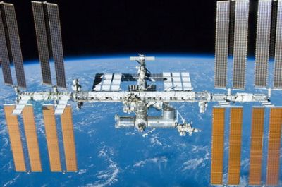 Part of a disembodied lung just arrived at the International Space Station