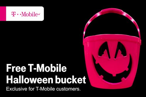 T-Mobile Tuesdays will offer a free T-Mo Halloween bucket next week