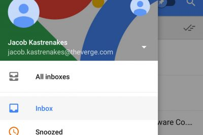 Google's Inbox can finally show multiple email accounts at once