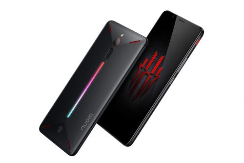 Nubia's Red Magic smartphone is designed for gaming, down to the glowing LEDs on the back