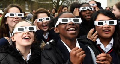 Hurry: It's not too late to get eclipse glasses for Monday's solar eclipse!