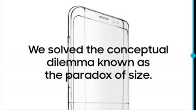 A bigger screen doesn't mean a bigger phone. This is the new