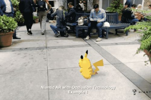 Niantic shows off a stunning AR demo that lets Pikachu hide behind real-world objects